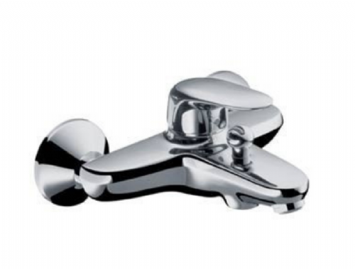 Hansgrohe Axor  Metris E Single Lever Bath Mixer Tap Surface Mounted In Chrome